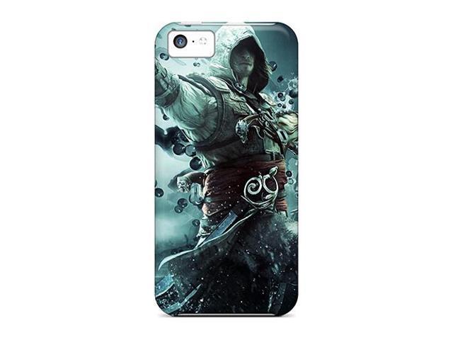 [gbK1222BXFG] - New Assassins Creed Iv: Black Flag Protective Iphone 5c Classic Hardshell Case