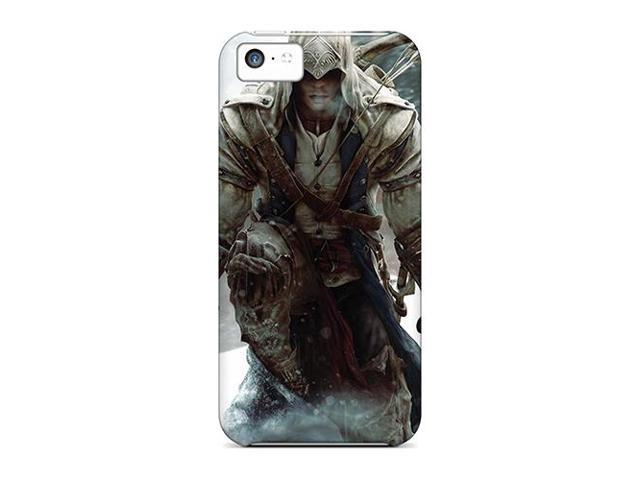 High Impact Dirt/shock Proof Case Cover For Iphone 5c (assassins Creed 3)