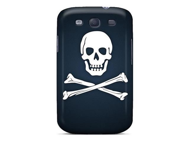 [ocd527AnVS] - New Black Pirate Flag Protective Galaxy S3 Classic Hardshell Case