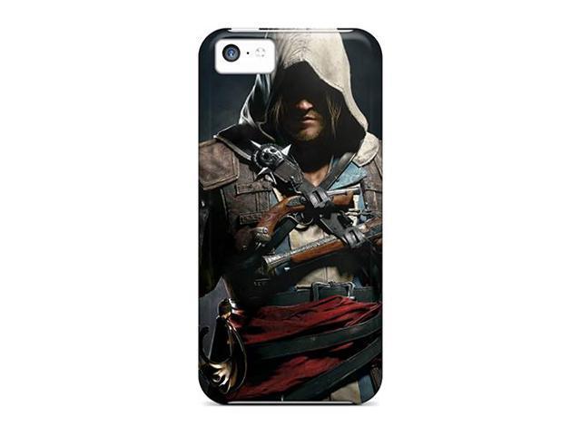 [XWp9051JlVP] - New Assassins Creed 4 Black Flag Protective Iphone 5c Classic Hardshell Case