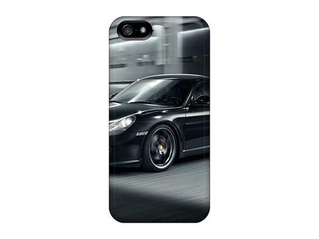 [GhG1921ibci] - New Cayman S Black Protective Iphone 5/5s Classic Hardshell Case