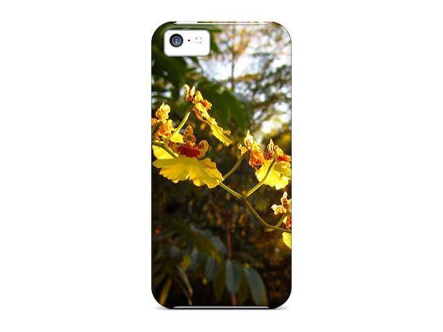 Shock-dirt Proof Dancing Lady Orchids Case Cover For Iphone 5c