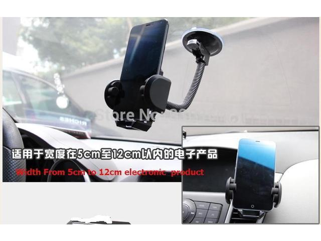 300pcs/lot, Universal Windshield Car Bracket Phone Holder Stand for iphone 6 6 plus for samsung GPS Tablet 360 Degree Rotating