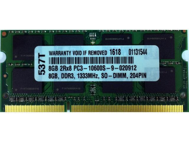 8GB DDR3-1333 204 PIN DDR3 MEMORY FOR APPLE 2011 / 2012 i5 and i7 MAC Mini