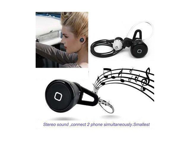 Stereo wireless Bluetooth Earphone earplug Mini Earbud Headsets Handsfree
