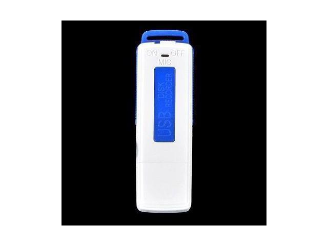 Blue USB Digital Audio SPY Voice Recorder Pen 8GB Disk Flash Drive Recording