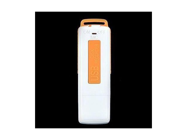 Orange USB Digital Audio SPY Voice Recorder Pen 8GB Disk Flash Drive Recording