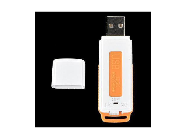 USB Digital Audio SPY Voice Recorder Pen 8GB Disk Flash Drive 150 hrs Recording