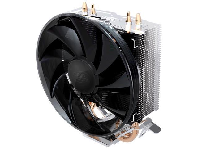 Deep Cool GAMMA WAVE CPU Cooler - 120mm Ultra Silent Fan (PWM) Dual Direct Contact Heatpipe Heatsink - For Intel CPU LGA775/LGA1155/LGA1156, AMD ...