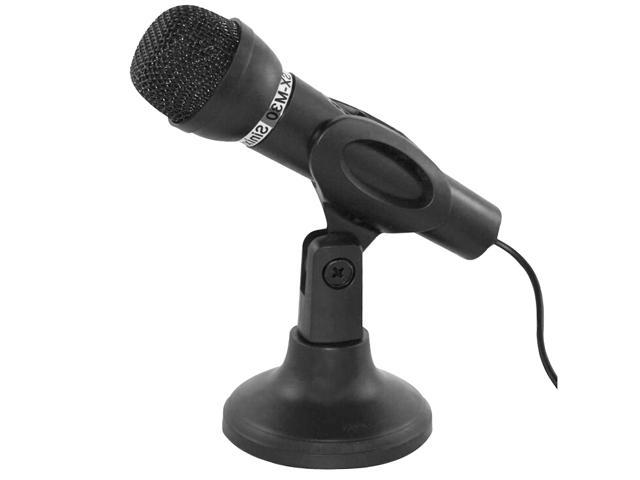 HQmade SX-M30 Power Performance Acoustics Desktop Microphone - High Quality Professional MIC 3.5mm Phone Jack - Black