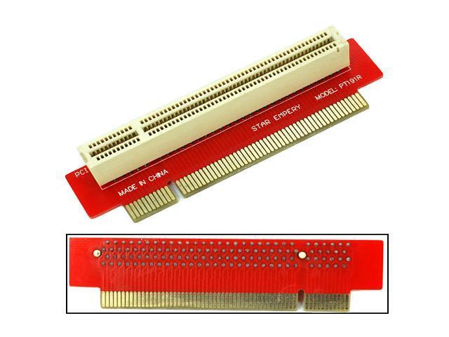 HQmade 32-bit PCI 1U Riser Card - Right-ward - Expansion Slot Adapter - For 1U/2U/3U Servers, HTPC, IPC