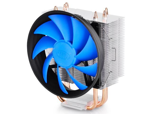Deep Cool DARK-ICE 300 Universal CPU Cooler - 120mm Cooling Fan (PWM) with Fins Heatsink 3 Heat-pipes - For Intel 130W ...