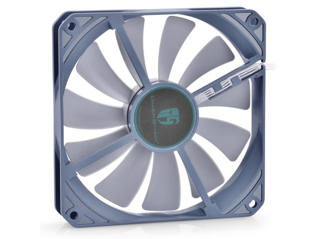 Deep Cool Game Storm GS120 Ultra Slim Slient Cooling Fan PWM 120mm x 20mm For PC Case Radiator