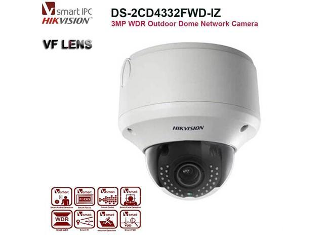 Hikvision 3MP WDR Outdoor Dome Network IP Camera Smart VQD DS-2CD4332FWD-IZ