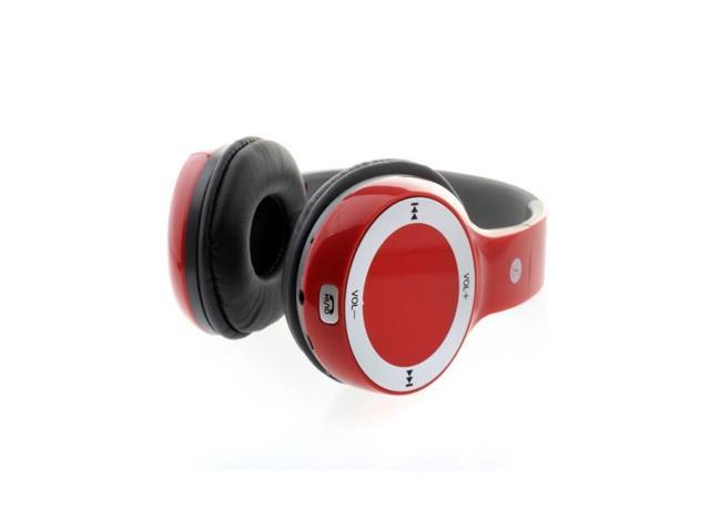 M-06 Plug card style Hi-Fi digital stereo music wireless foldable headphone with TF card slot FM