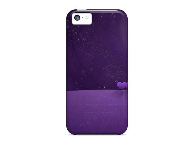 High Impact Dirt/shock Proof Case Cover For Iphone 5c (valentine Night)