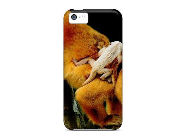 High Impact Dirt/shock Proof Case Cover For Iphone 5c (monkeys)