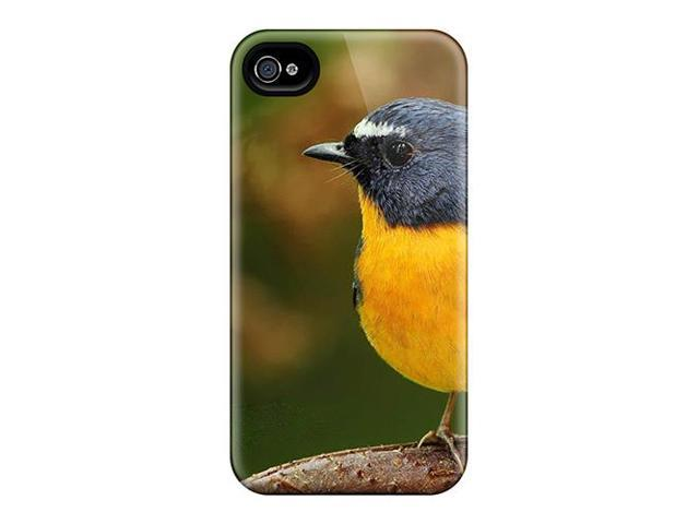 AUb3943Einv Protective Case For Iphone 4/4s(yellow Belly Bird)
