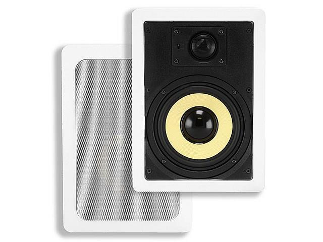 6-1/2 Inches Kevlar 2-Way In-Wall Speakers (Pair) - 60W Nominal, 120W Max