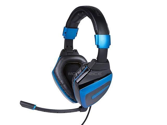 Mono 7.1 Dolby Digital Amplified Gaming Headset for Xbox® 360, PS3®, and PC - BLACK