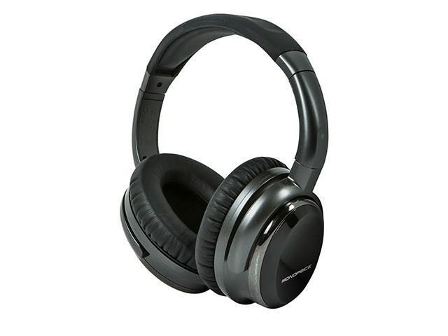 Mono Noise Cancelling Headphone w/ Active Noise Reduction Technology