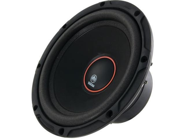 "Okur(R) K4 Series Subwoofer (8"", 2_ DVC, 500 Watts By: DB DRIVE"