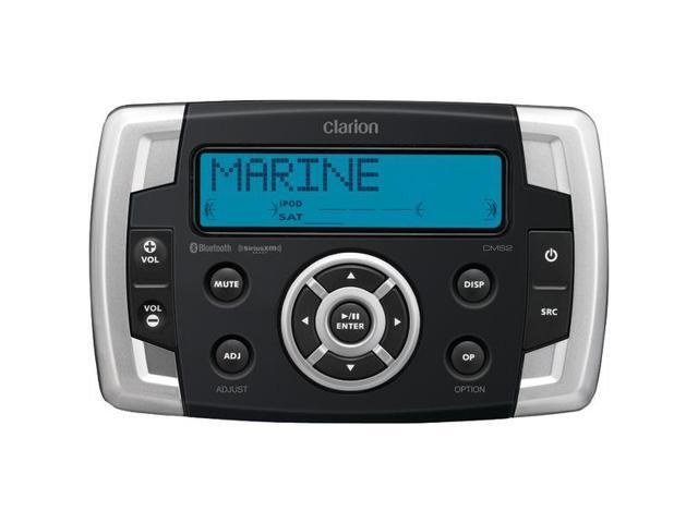 "Marine ""Black Box"" Digital Media Receiver with USB Port & SiriusXM(R) Ready By: CLARION"