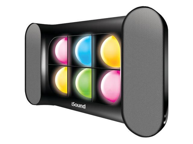 iGlow Pro Bluetooth(R) Speaker with Dancing Lights & Rechargeable Battery (Black) By: DREAMGEAR