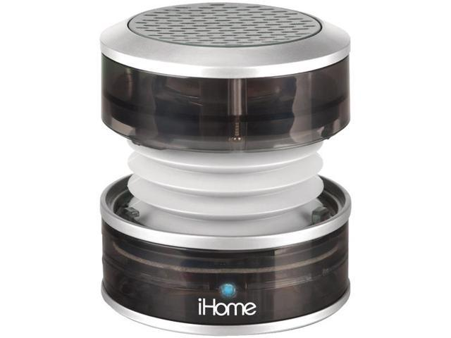 Rechargeable Mini Speaker (Translucent Gray) By: IHOME