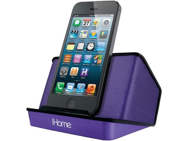Portable Rechargeable Stereo Speaker System By: IHOME