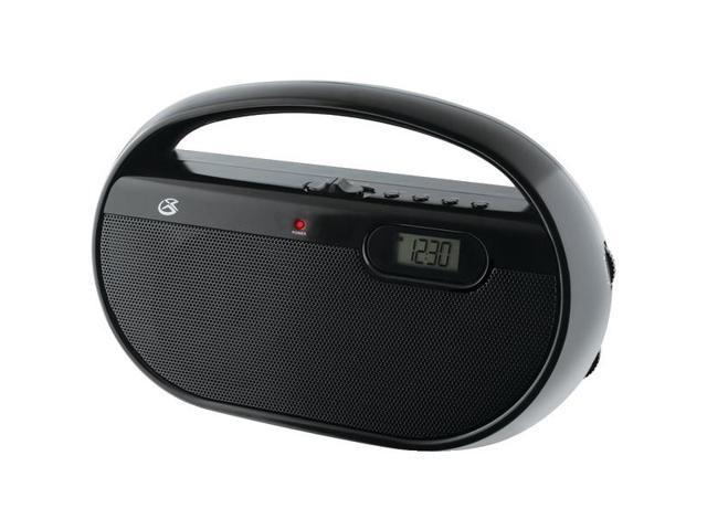 AM/FM Portable Clock Radio By: GPX