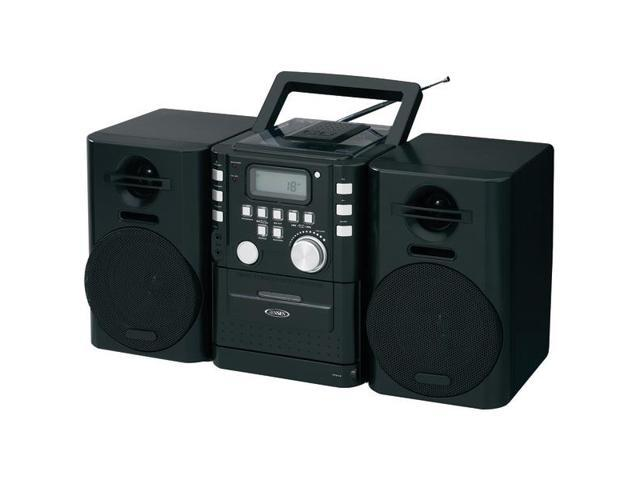 Portable CD Music System with Cassette & FM Stereo Radio By: JENSEN