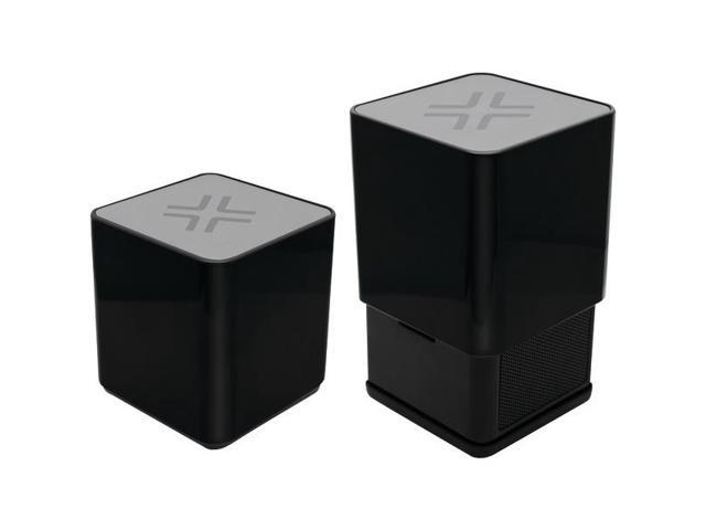 Rise Ultra-Portable Bluetooth(R) Speaker (Black with Aluminum Top) By: LENMAR