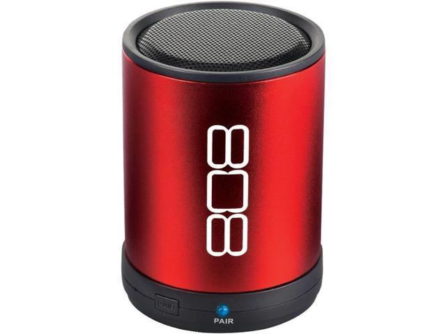 Bluetooth(R) Portable Speaker (Red) By: 808