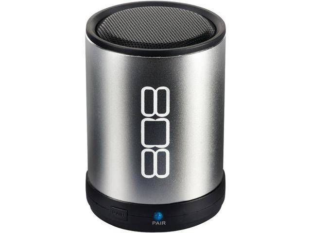 Bluetooth(R) Portable Speaker (Silver) By: 808