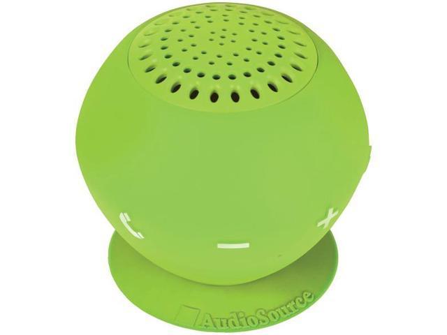 Sound pOp 2(TM) Water-Resistant Bluetooth(R) Speaker (Green) By: AUDIOSOURCE