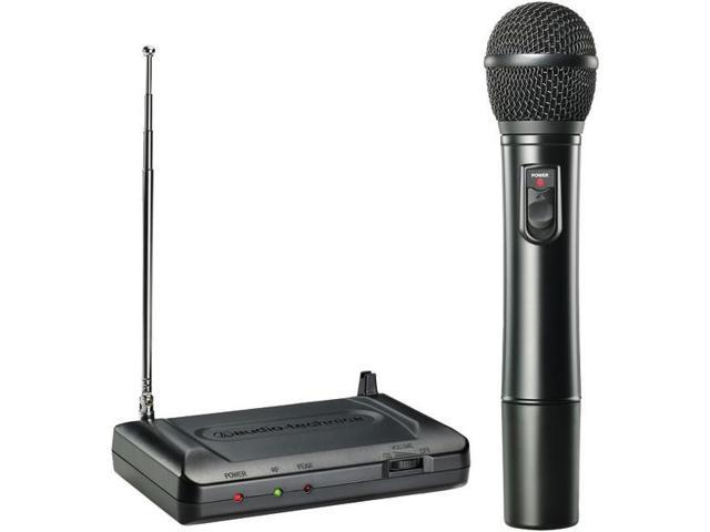 Handheld VHF Wireless Microphone System (169.505MHz) By: AUDIO TECHNICA