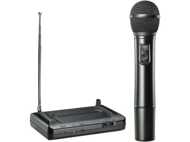 Handheld VHF Wireless Microphone System (170.245MHz) By: AUDIO TECHNICA