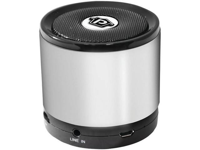 Bluetooth(R) Mini Speaker (Silver) By: PYLE HOME