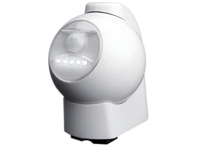 Motion-Activated LED Outdoor Light (White) By: MAXSA INNOVATIONS