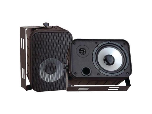 6.5'' Indoor/Outdoor Waterproof Speakers (Black) By: PYLE