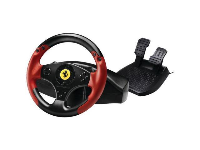 PlayStation(R)3/PC Red Legend Edition Ferrari(R) Racing Wheel By: THRUSTMASTER