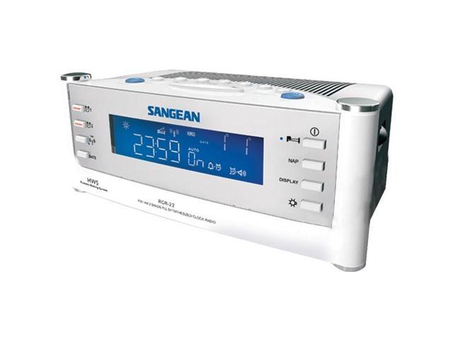 AM/FM Atomic Clock Radio with LCD Display By: SANGEAN