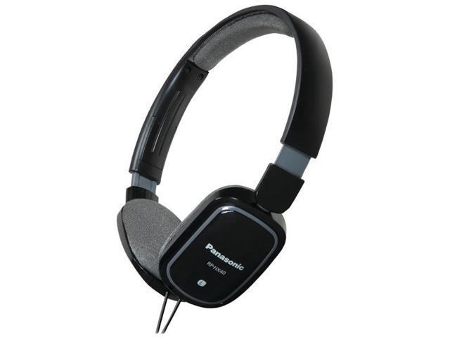 SLIMZ Lightweight On-Ear Headphones with iPad(R)/iPhone(R)/iPod(R) Controller (Black) By: PANASONIC