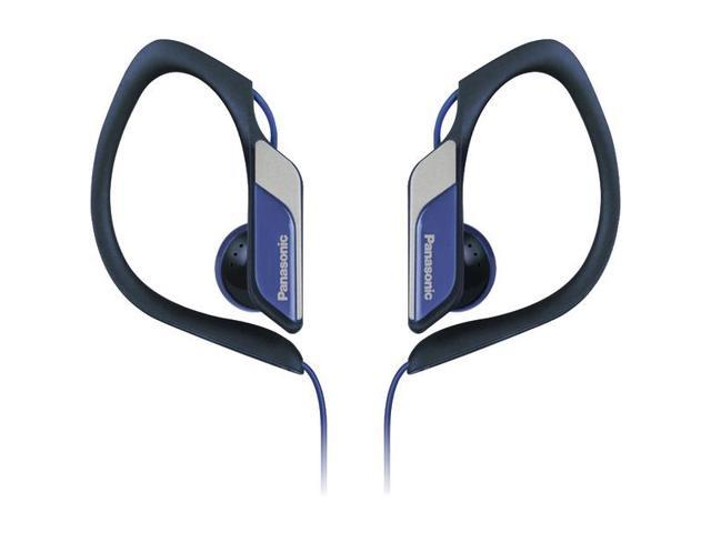 Sport Clip HS34 Headphones with Microphone (Blue) By: PANASONIC