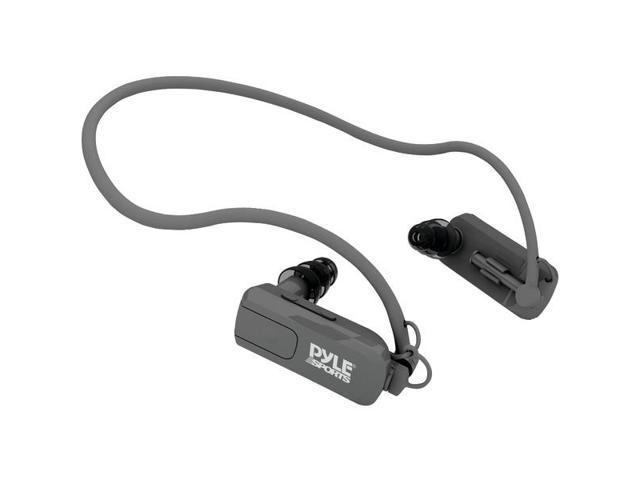 4GB Waterproof Neckband MP3 Player & Headphones (Black) By: PYLE