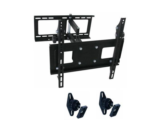 TygerClaw 23 to 42 inch Full Motion Wall Mount with Two Speaker mounts