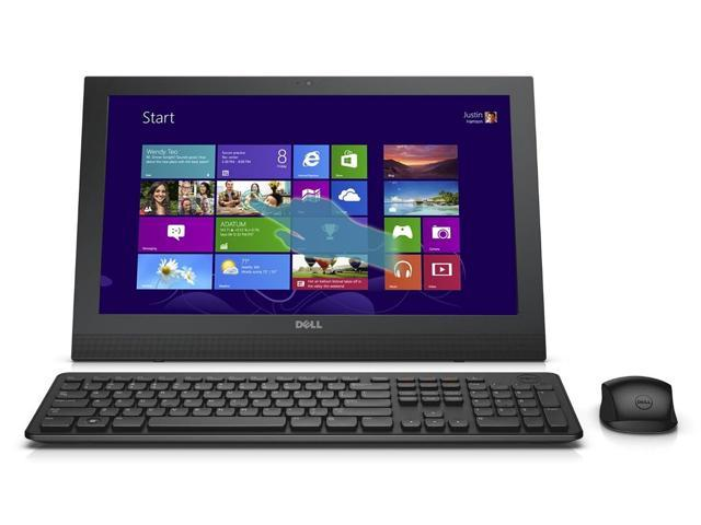 Dell Inspiron 20 inch i3043 Touchscreen Signature Edition All-in-One Tablets 4GB Memory 500GB Hard Drive Waves MaxxAudio Miracast Windows 8.1