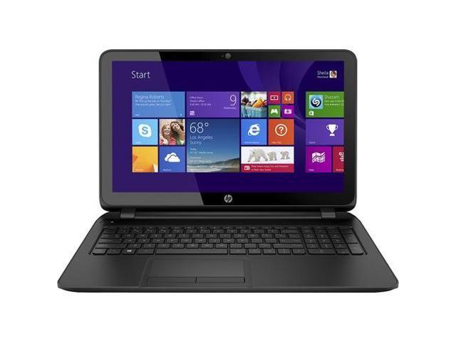 HP 15 15.6-inch Laptop PC / AMD Quad-Core A8-6410 Accelerated Processor with AMD Radeon R5 graphics / 4GB Memory / 750GB HD / DVD±RW/CD-RW / ...