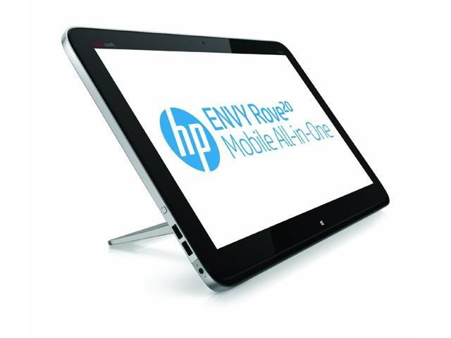 HP Envy Rove 20-Inch Mobile All-in-One Touchscreen Desktop PC / i3-4010U / 4GB / 750G HD with 8GB ssd / WiFi / Bluetooth / webcam ...